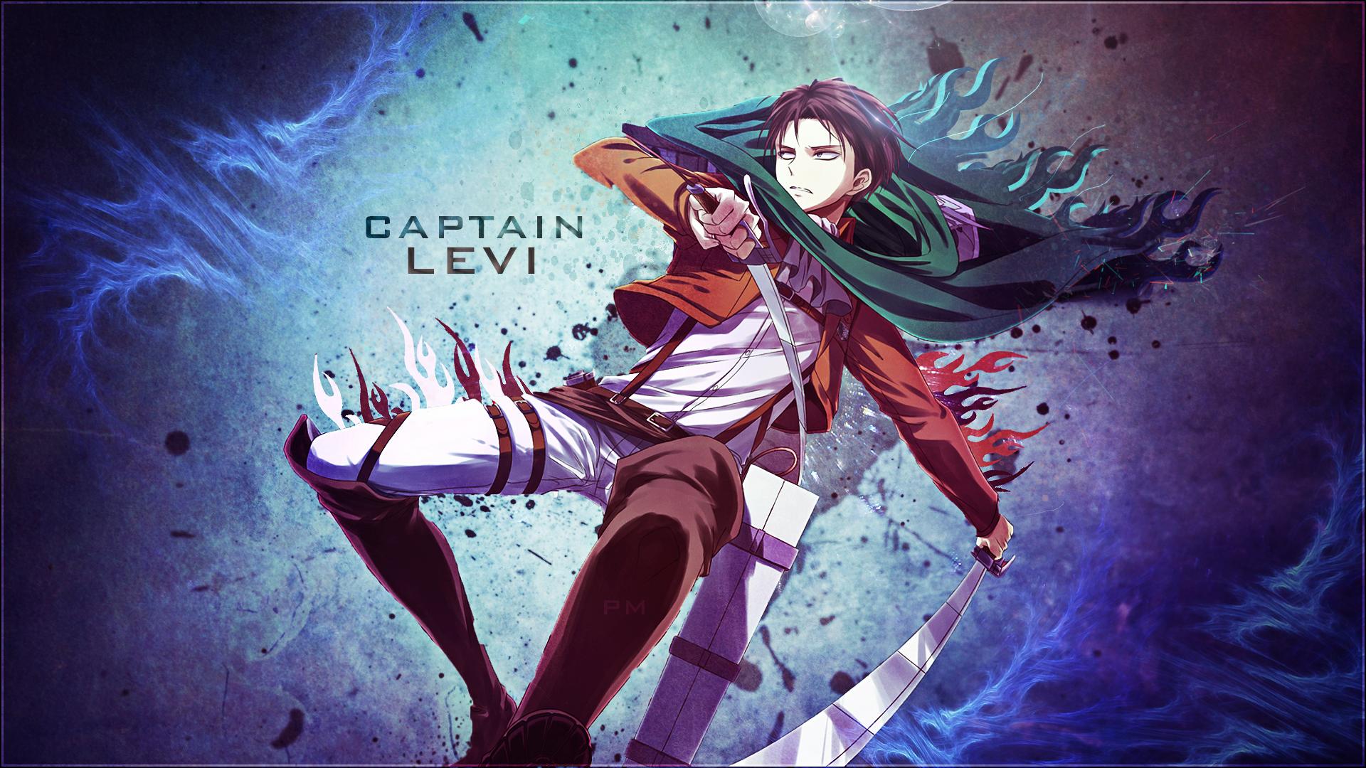 Wallpaper Captain Levi By Attats On Deviantart