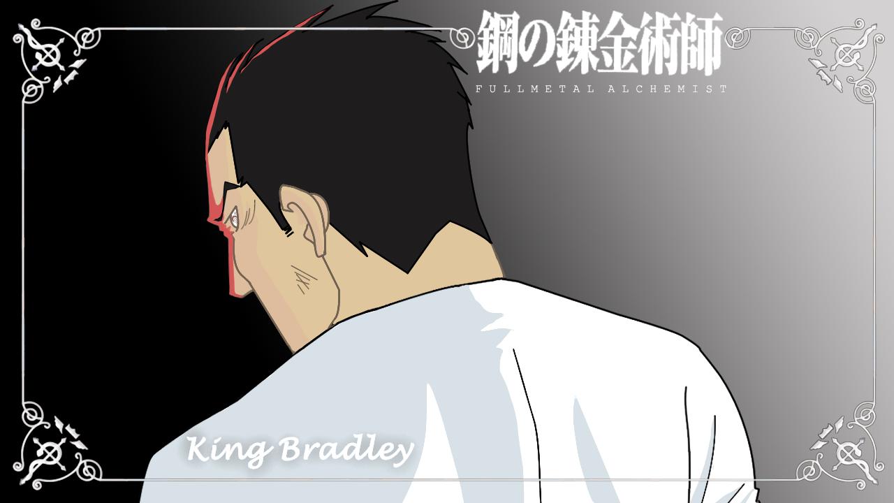 FMA: King Bradley Eyecatch