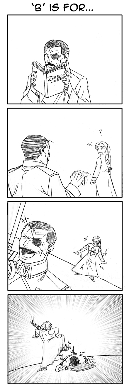 FMA 4koma: 'B' is for...