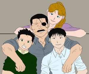 FMA AU Bradley Family Portrait