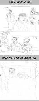 FMA: The Fuhrer Club and Keeping Wrath In Line