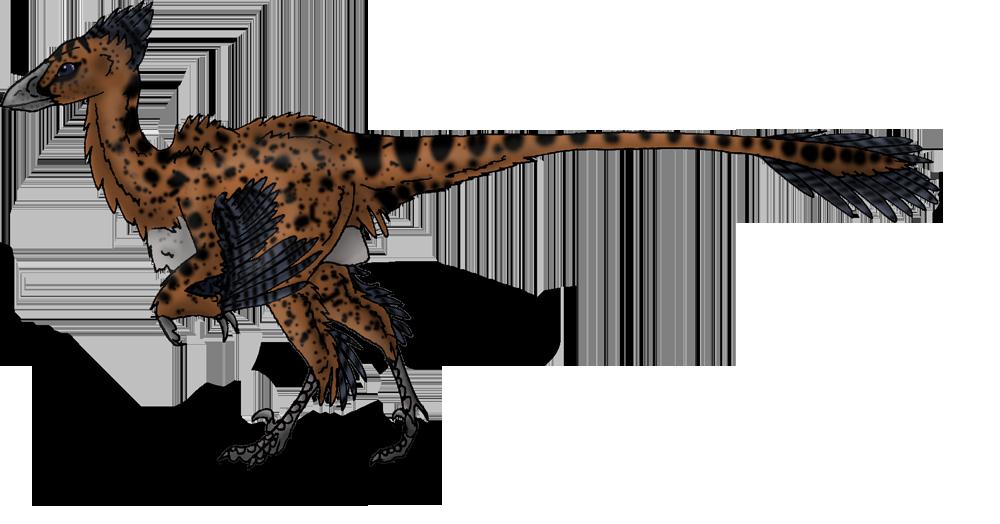Bambiraptor-little dromeosaur by BlueFluffyDinosaur