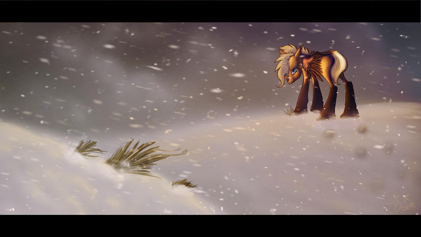 Blizzard by BlueFluffyDinosaur
