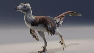 Velociraptor test render