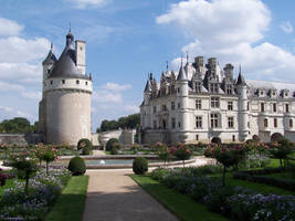 Chateau Chenonseaux by Darkwing-Eli