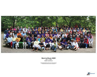 Drum Camp 2009 Group Photo by MissMax