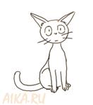 Jiji cat from Kiki's delivery service