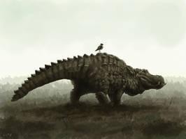 Crocopotamus by M0AI