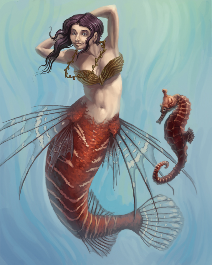 Mermaid 2 by M0AI