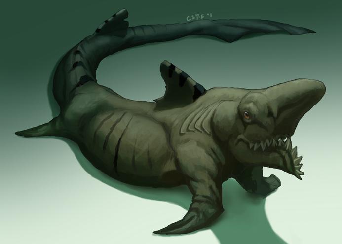 Shark-o-pod by M0AI