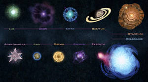 Painter Solar System by M0AI