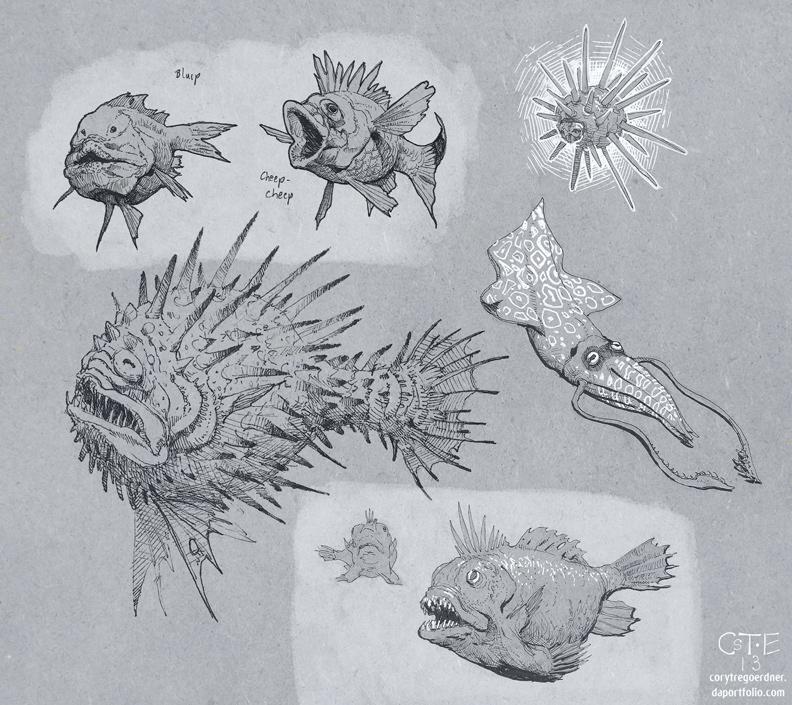 Reef Fauna by M0AI