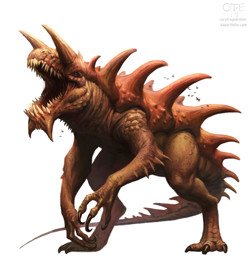 DnD - Tarrasque by M0AI