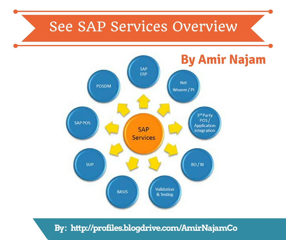 Overview of SAP Services by Amir Najam by amiryounisnajam