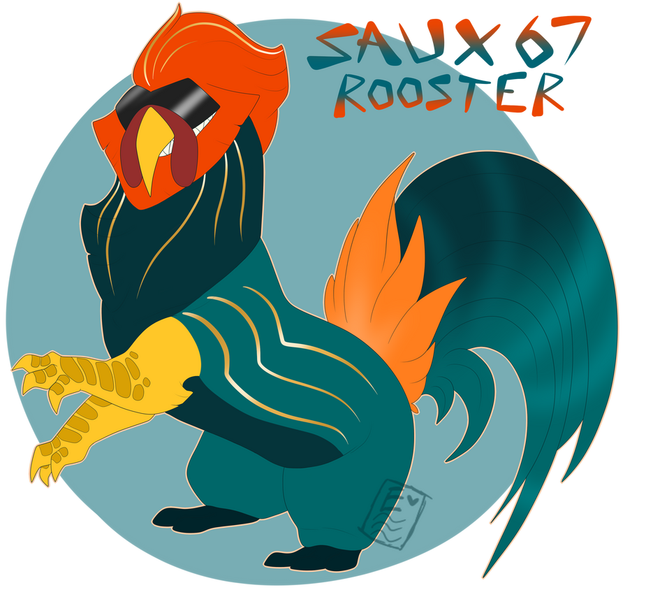 Saux67_Rooster [DTA CLOSED JUDGING] by eerieN00dle