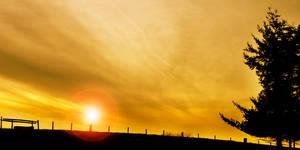 Abergavenny Sunset