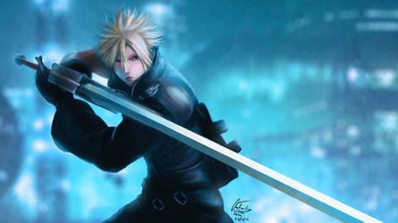 Final Fantasy VII - Cloud's Stance