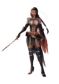 Huntress (Commission)