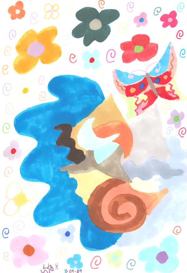 Abstract Wonder by AngelAndz