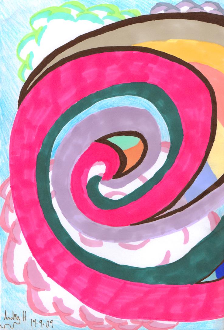 Spiral of Imagination by AngelAndz