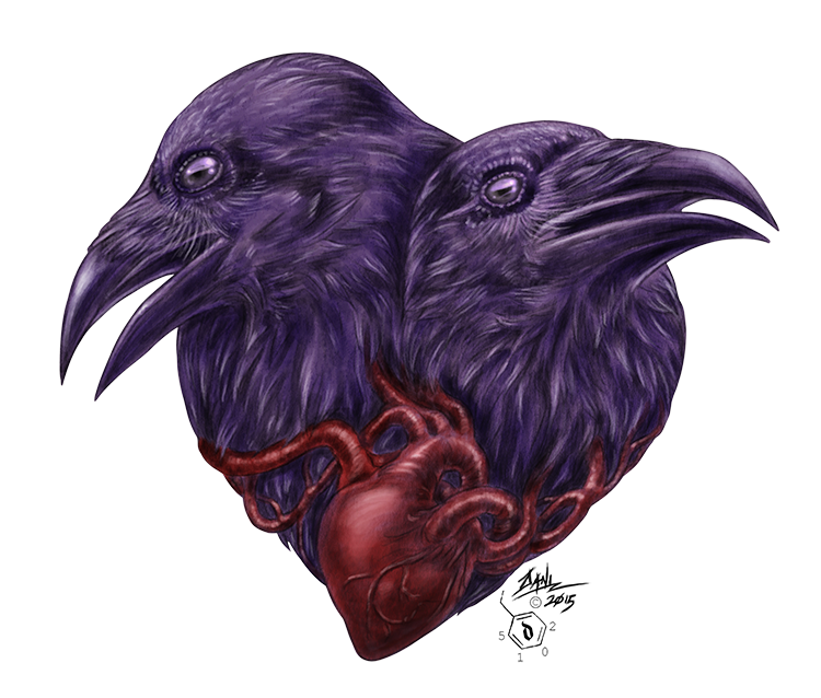 A heart between them by DREDSHIFT