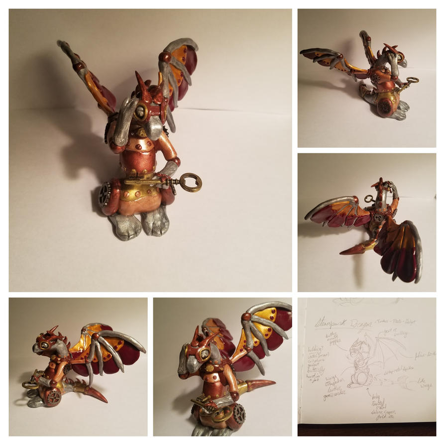 Steampunk Dragon by heathergk0