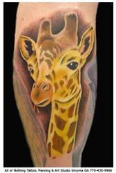 Giraffe by davetedder