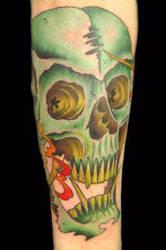creepy skull stuff by davetedder