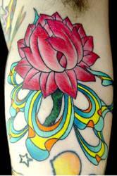 Welder Dave's trippy flower by davetedder