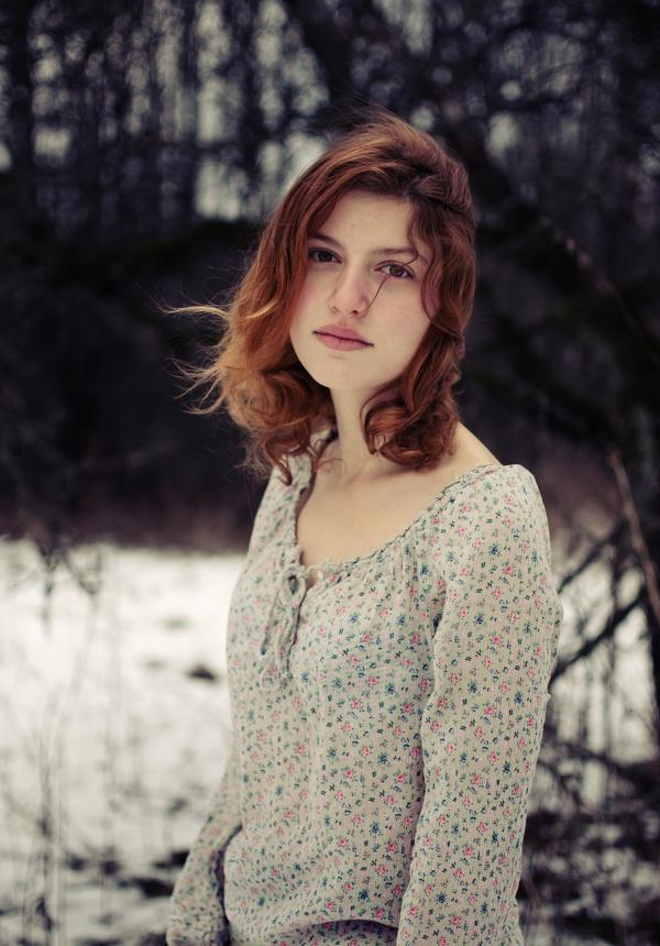 fragile girl by baravavrova