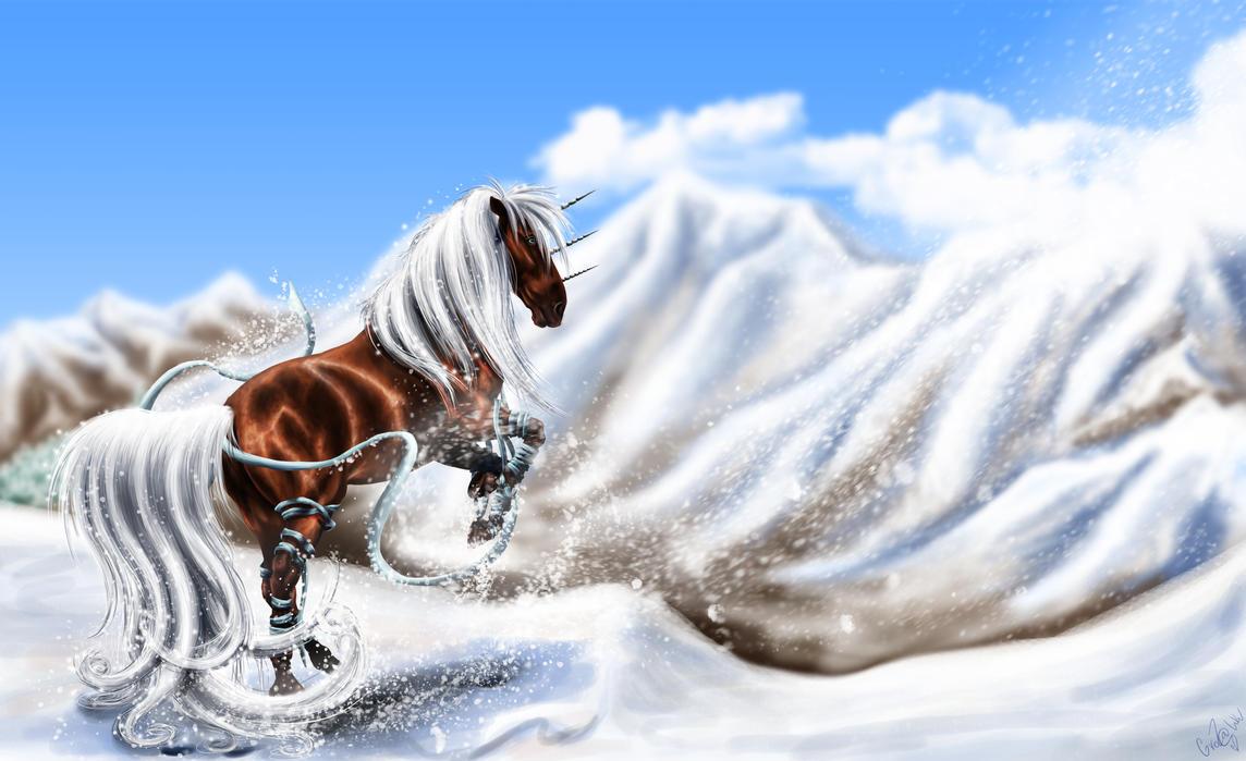 Snow by GroZa-WhiteWolf
