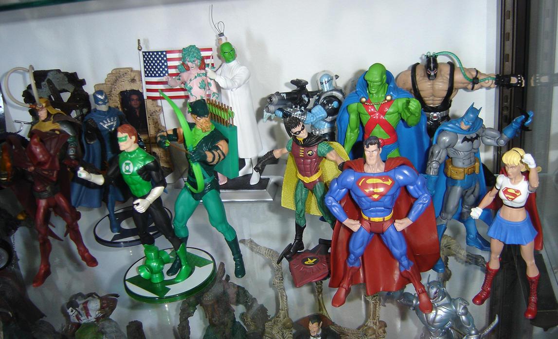 DC SuperHeroes by Arthur-Engler