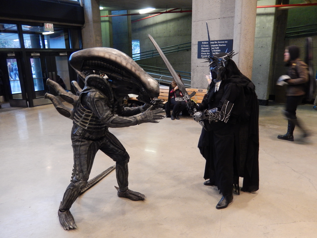 Witch King vs Alien Cosplay by JediAlisa ... & Witch King vs Alien Cosplay by JediAlisa on DeviantArt