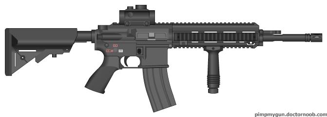 M416 by fenrirthefirewolf on deviantart - M416 wallpaper ...