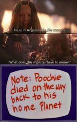 Thanos Mourns Poochie