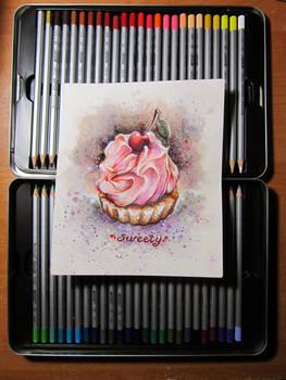 A cake sketch