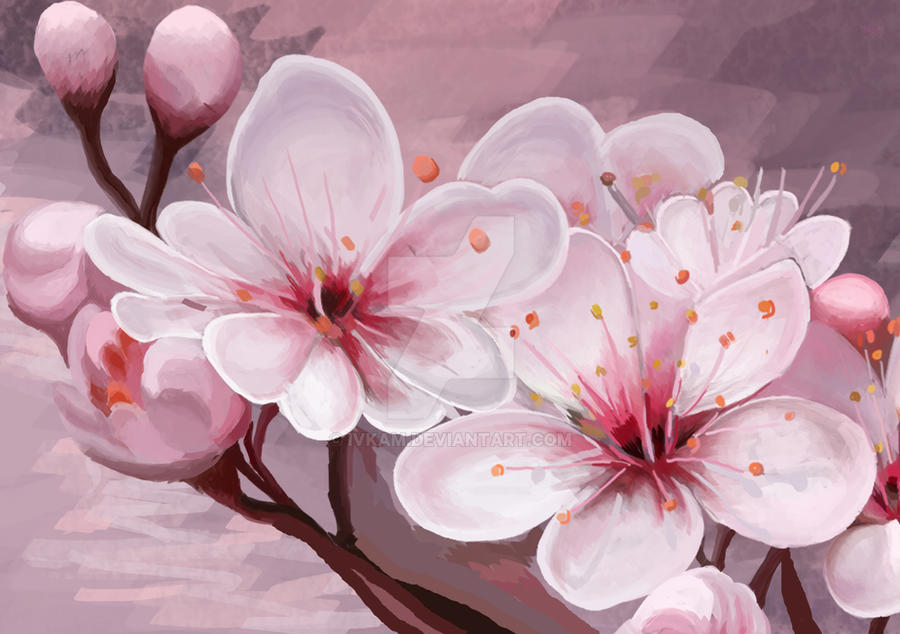 Cherry blossom Concept art by IvkaM