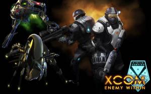 XCOM Enemy Within Wallpaper by RagingGamerful