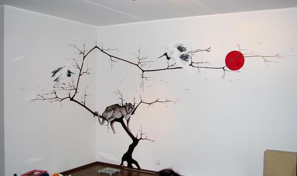 Drawing On The Wall By LVJONOK On DeviantArt