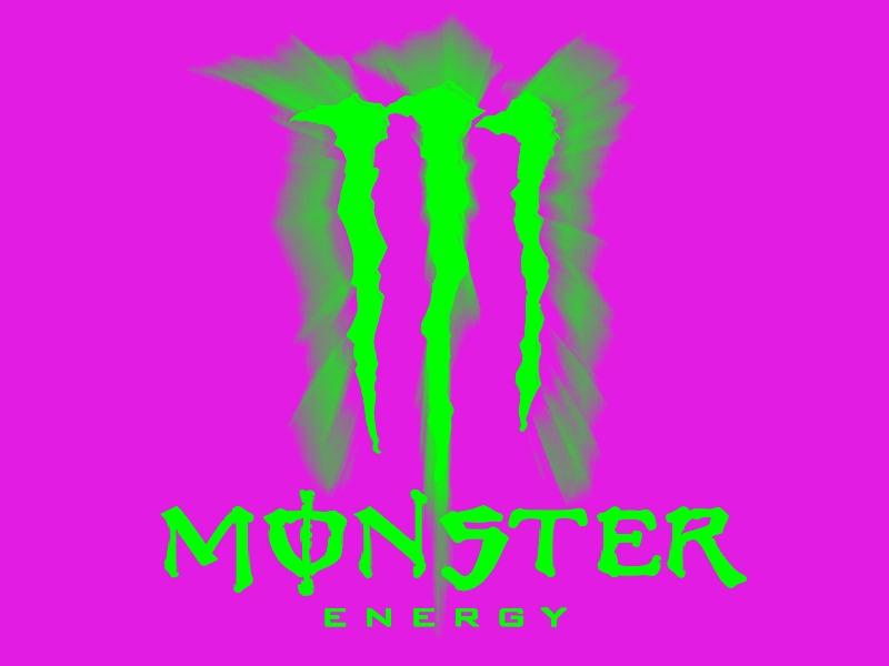 monster energy edit by luxor awesome on deviantart rh deviantart com pink monkey colorado pink monster energy