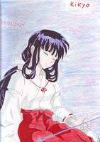 Inuyasha Kikyo by Oniwabanshu-gaby