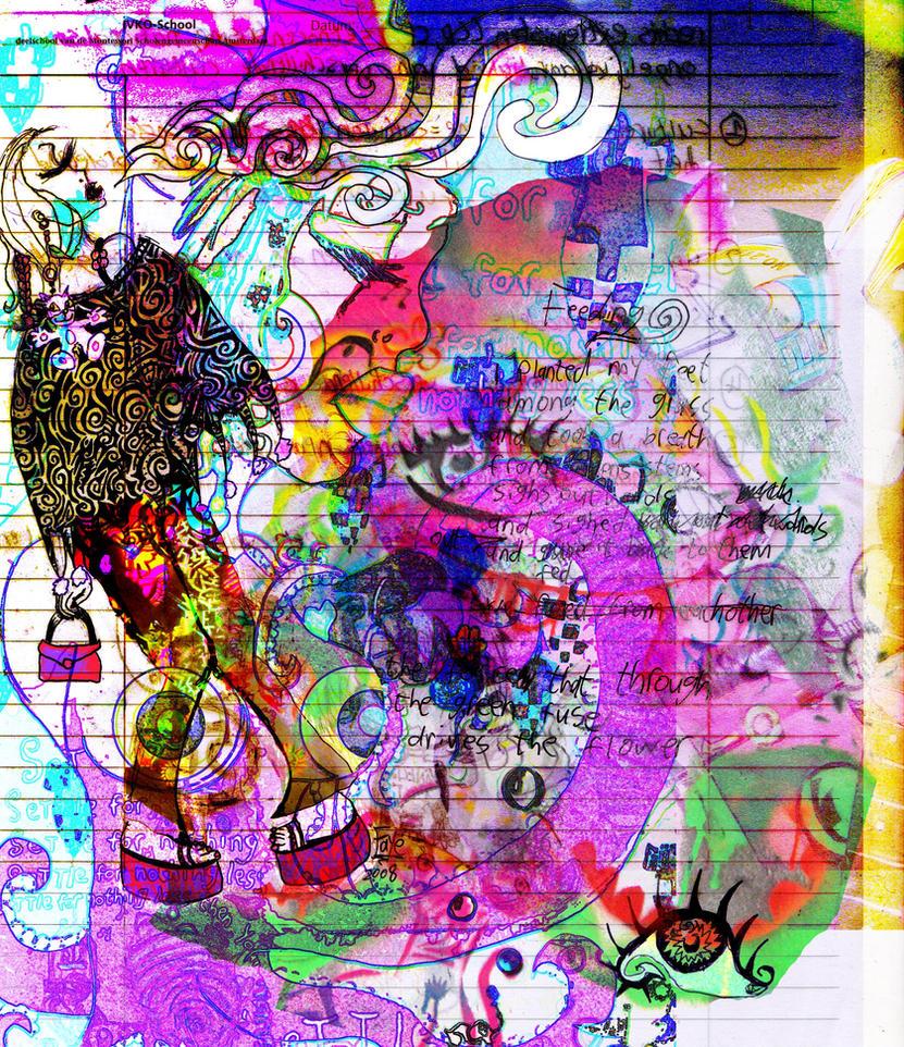 Trippy Hippie Chick By Faybo On DeviantArt