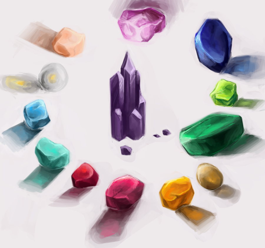 plastic gems by maaronn on deviantart