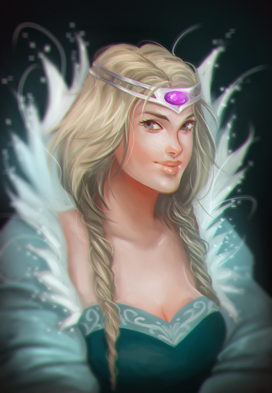 W.I.T.C.H- the Queen by Maaronn