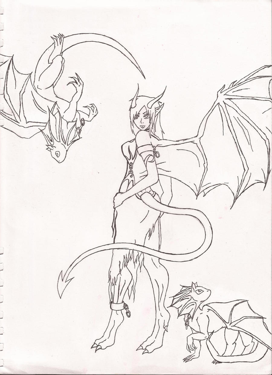 My dragon girl