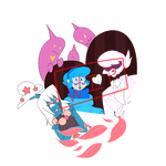 Mystery Skulls animation fan artsWIP