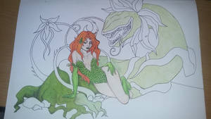 WIP Poison Ivy for Husband's Birthday