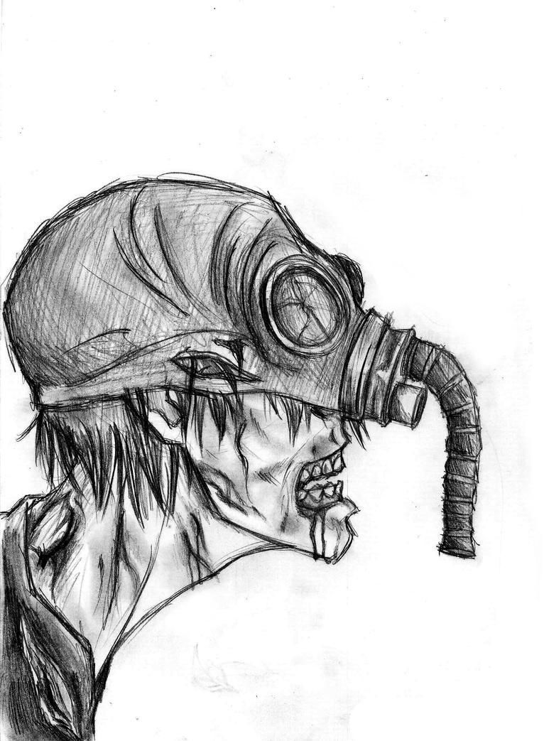 Как нарисовать сталкера или мутантов поэтапно