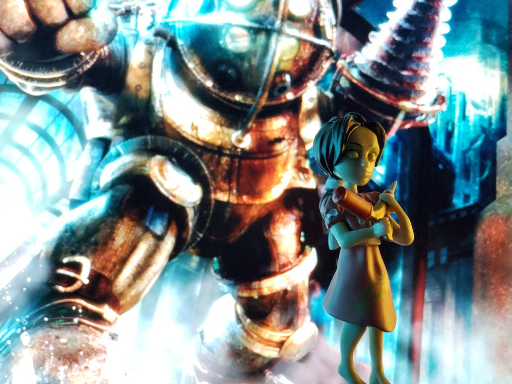 Little Sister from BioShock by Metzae
