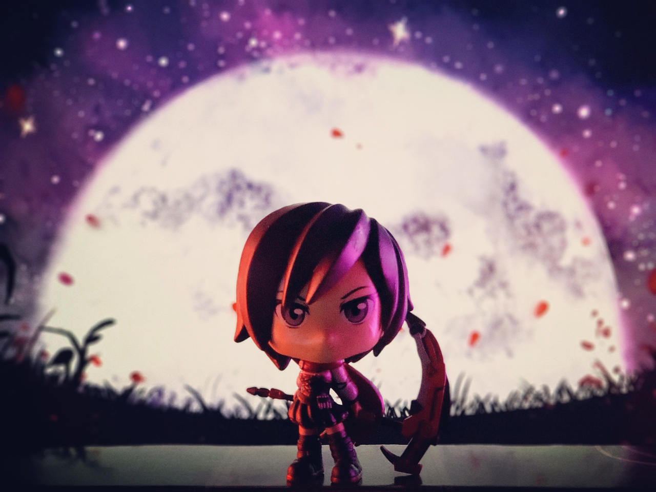 Ruby Rose by Moonlight